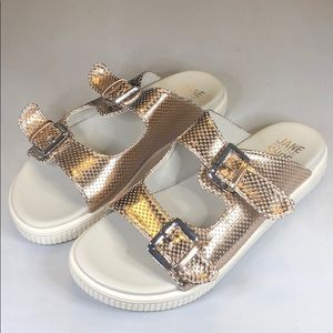 Shoes - [222] Womens 7 M Joey Slide  by Jane and the Shoe